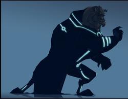 Tron Styled Disney Cartoon Characters