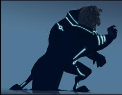 Tron Styled Disney Cartoon Characters