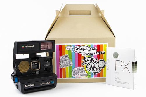 Vintage Polaroid Sun 660 Camera Limited Edition