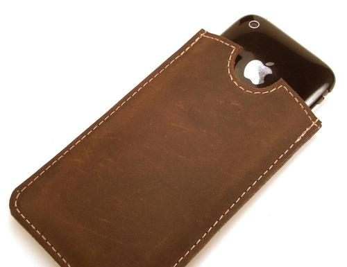 Handmade iPhone 4 Leather Case