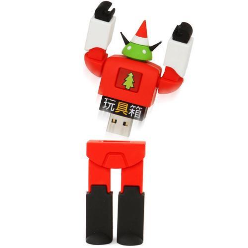 Christmas Themed Stealth Robot USB Flash Drive