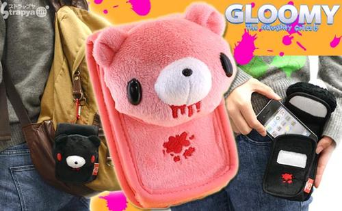 Gloomy Bear Plush Toy iPhone Case