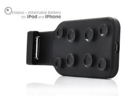Octopus Attachable Extended Battery for iPhone and iPod