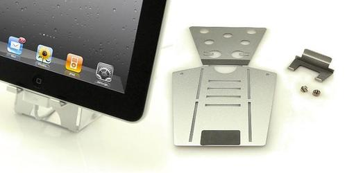 AluPose Aluminum iPad Stand