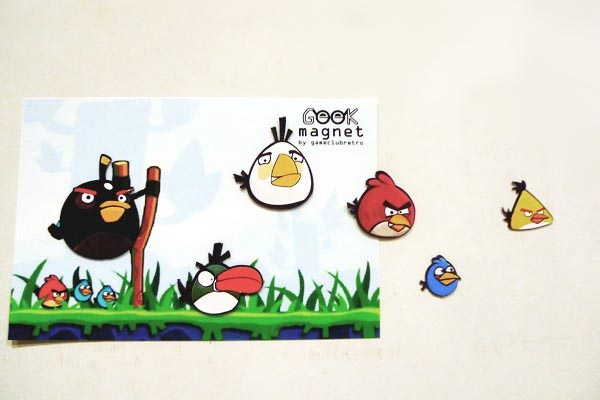 Angry Birds Fridge Magnet Set