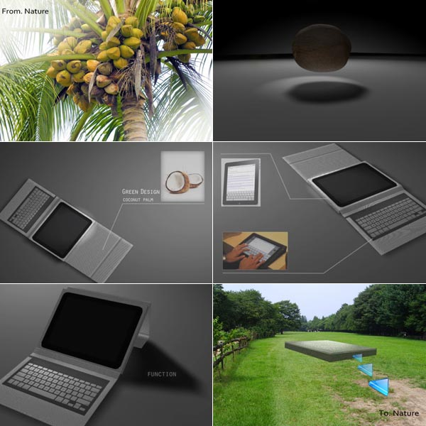 Coconut iPad Case Design Concept