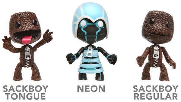 Cute LittleBigPlanet Action Figures
