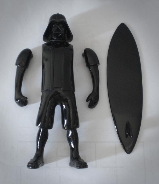 Darth Vader on Vacation Custom Figure