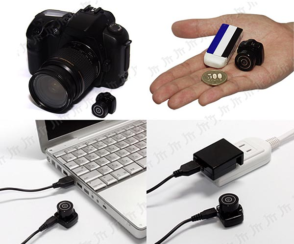 DSLR Camera Shaped Chobi Cam One Mini Camcorder