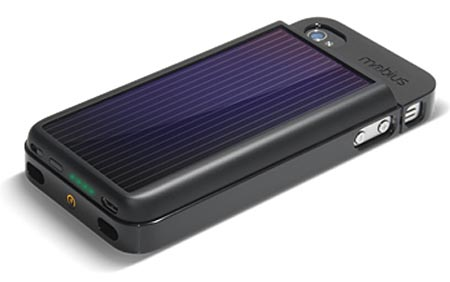 Etón Mobius Solar Charging Extended Battery iPhone 4 Case