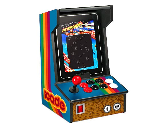 iCADE iPad Arcade Cabinet Comes to Life
