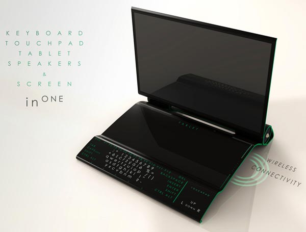 InOne TRON Styled All-In-One PC