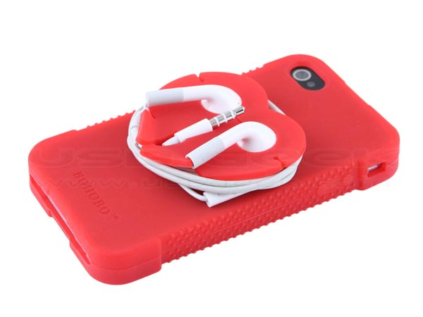 iPhone 4 Case with Earbuds Management