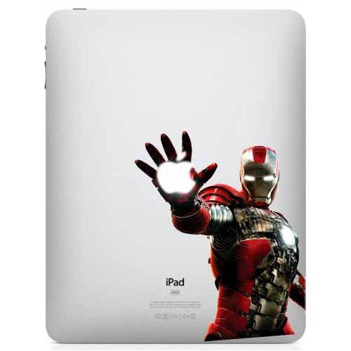Iron Man in Mark V Armor iPad Decal