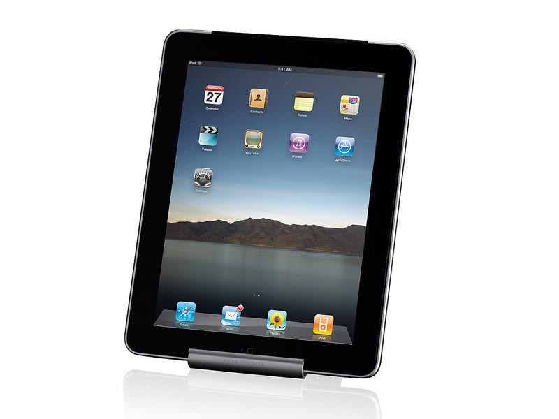 Just Mobile Slide Portable Ipad Stand Gadgetsin