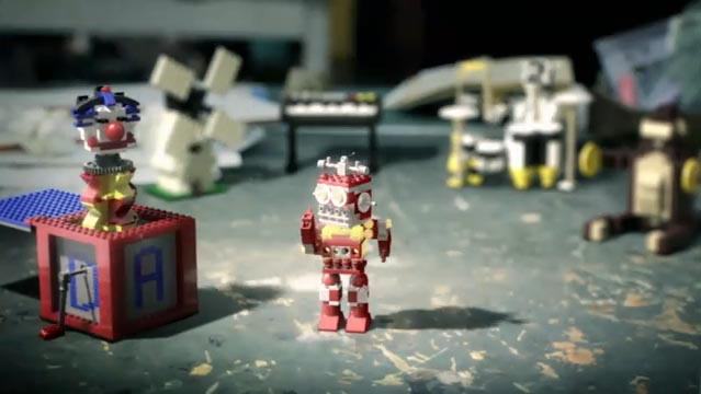 LEGO Click Stop Motion Commercial