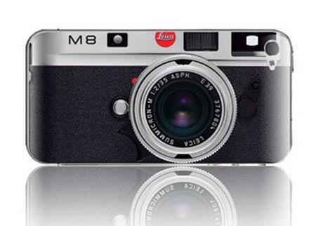 Leica M8 iPhone 4 Skin
