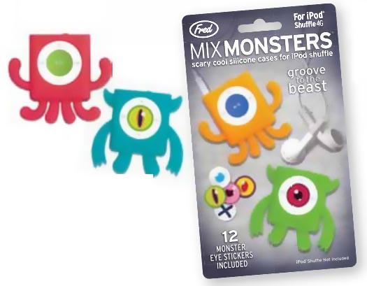 MIX MONSTERS iPod Shuffle Case