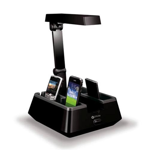 OttLite Charging Valet Desk Lamp