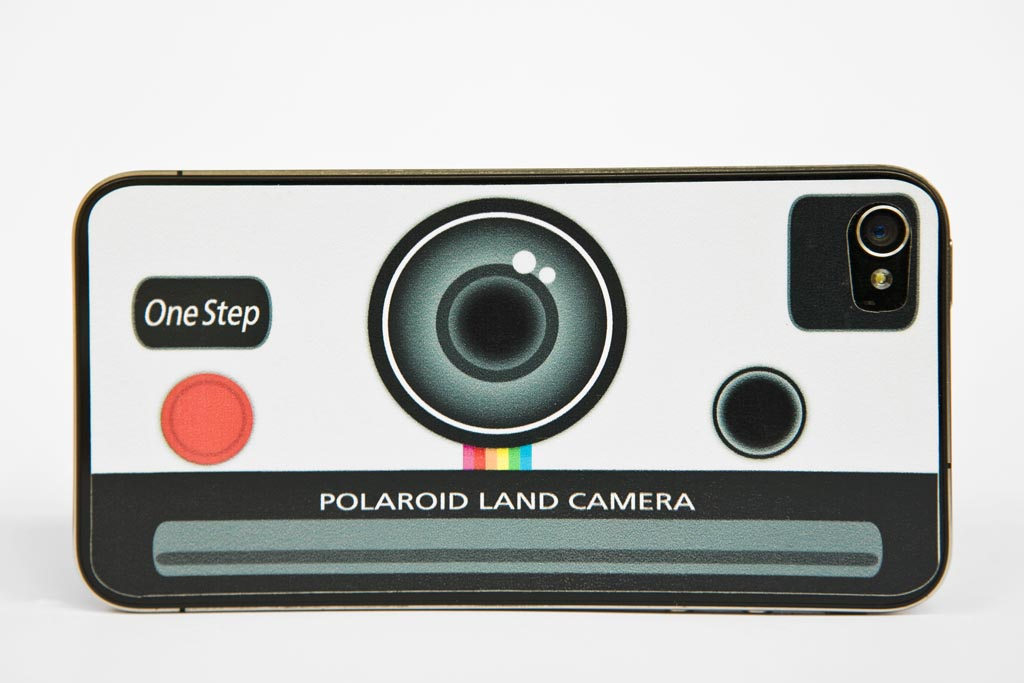 Polaroid Land Camera Iphone Skin on Iphone Charging Cable