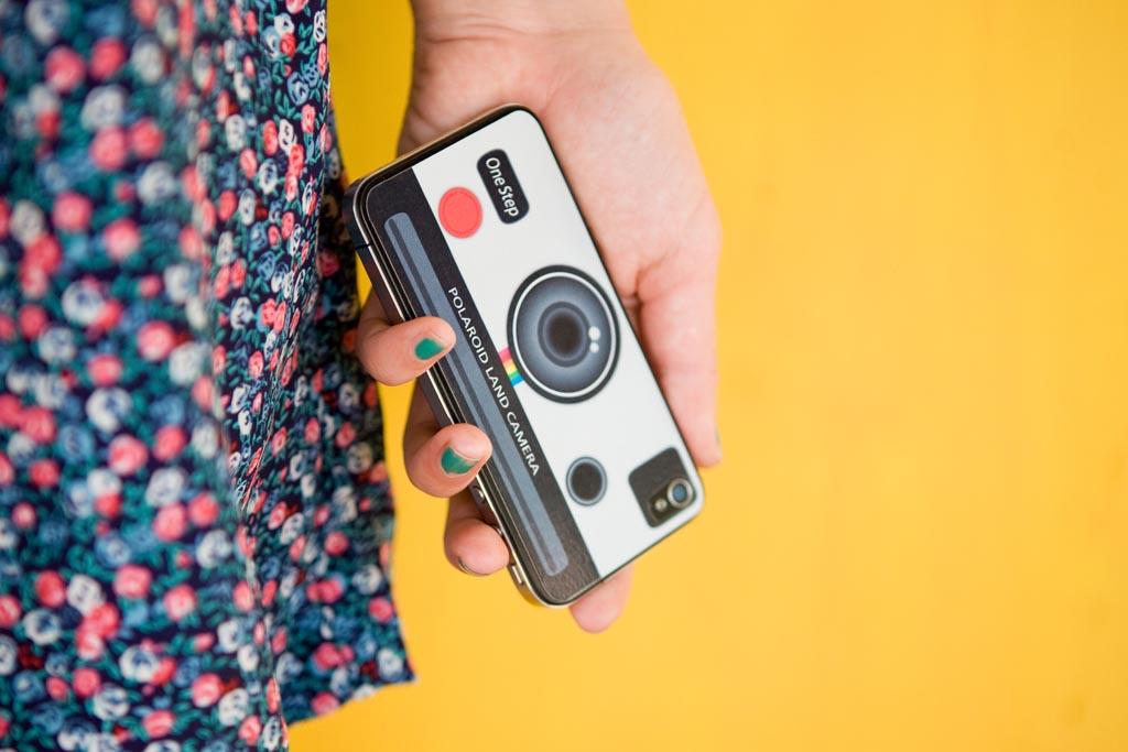 Polaroid Land Camera Iphone 4 Skin Gadgetsin