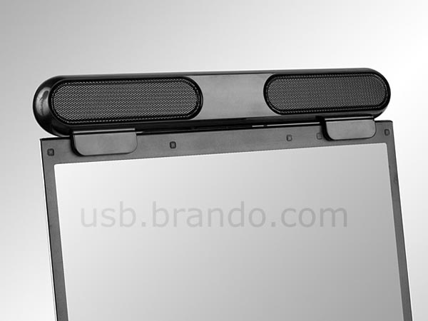 Portable Screen-Top USB Speaker