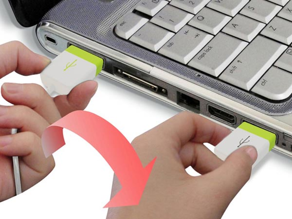 Practical Design Concept Double U USB Port