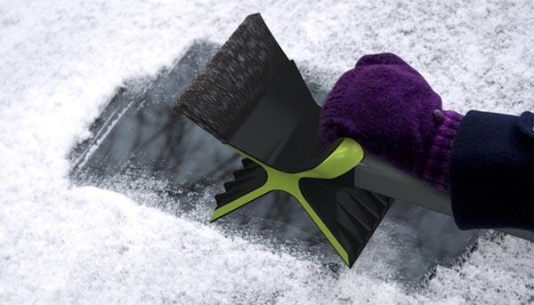 Quirky Snowdozer Ice Scraper