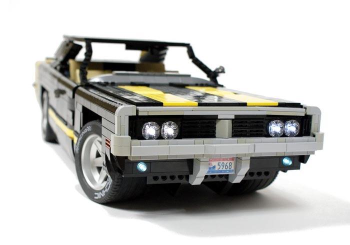 Remote Control Lego 1969 Dodge Charger R T Gadgetsin