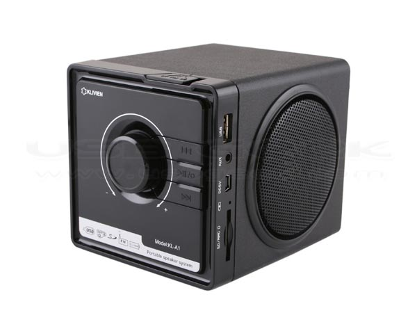 Retro USB Speaker Integrated MP3 Player and FM Radio