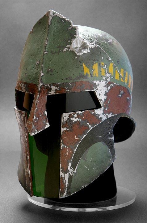 Spartan Boba Fett Helmet