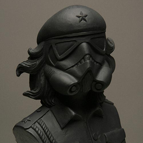 Star Wars Artist Bust Combined with Stormtrooper and Che Guevara