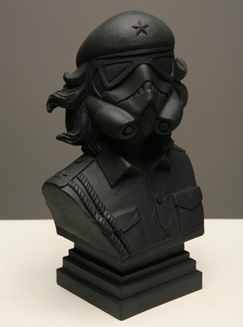 Star Wars Artist Bust Combined With Stormtrooper And Che