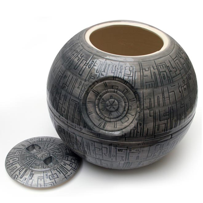 Star Wars Death Star Cookie Jar Gadgetsin