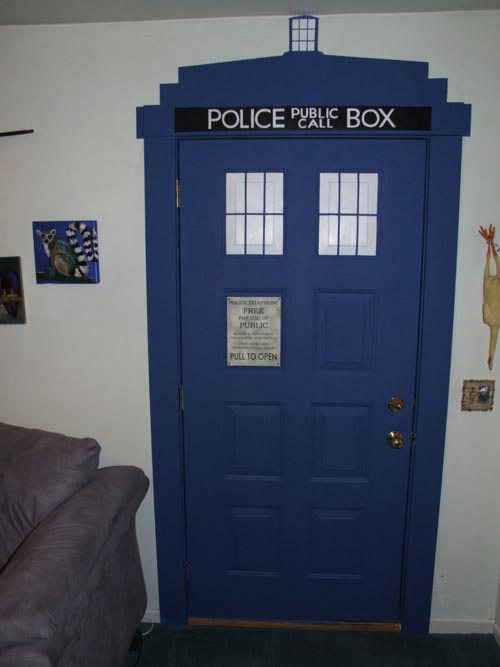 Turn Your Living Room into TARDIS