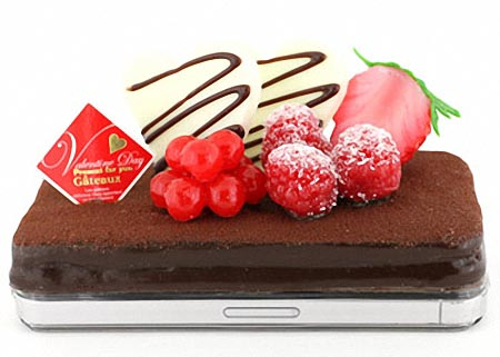 Valentine Chocolate Cake iPhone 4 Case