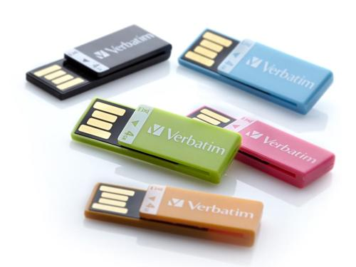 Verbatim Clip-it USB Flash Drive Now Available