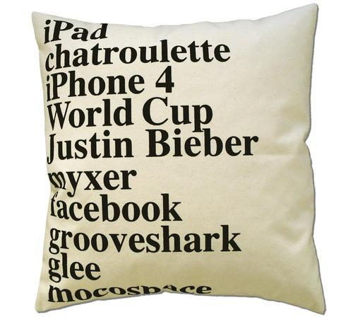 Google Top Searches Pillow 2011