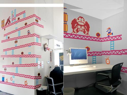 Donkey Kong Wall Decal