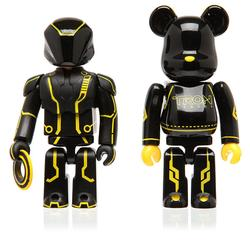 Tron Kubrick and Bearbrick Figures