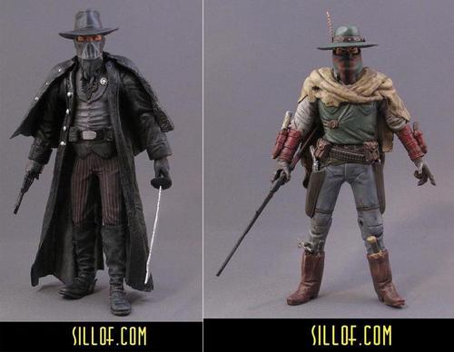 Western Styled Star Wars Custom Action Figures by Sillof