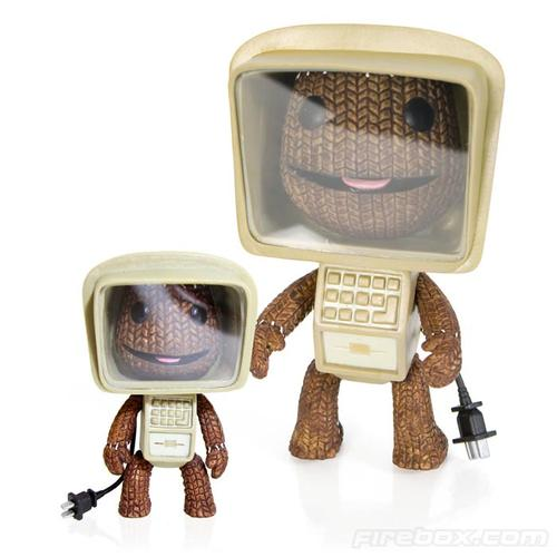 Sackboy Computer Gear Action Figure