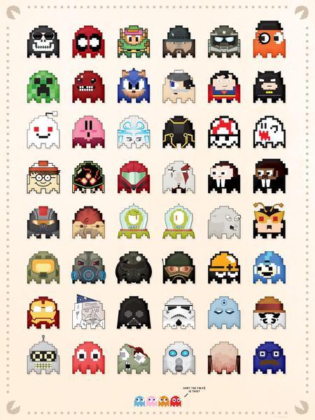 Universal Pacman Ghosts 2