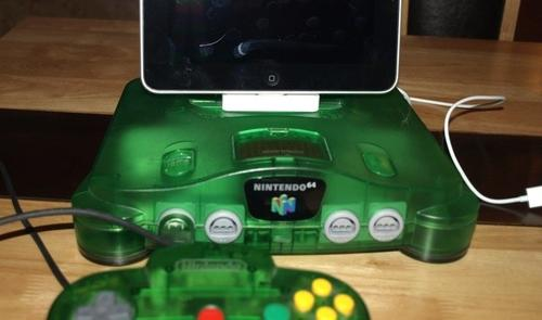 Nintendo 64 iPad Docking Station