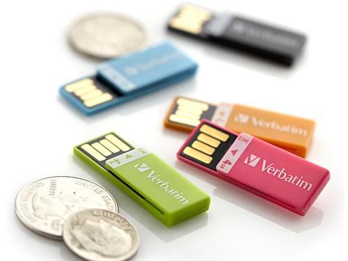 Verbatim Clip-it USB Flash Drive Now Available