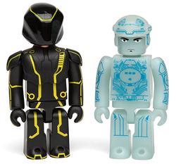 Tron Kubrick and Bearbrick Figures