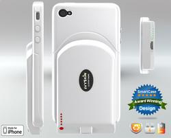 IvySkin SmartCase 4 iPhone 4 Case with Interchangeable Battery Pack