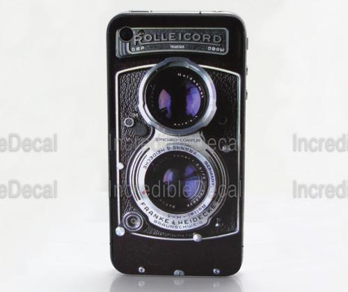 Rolleicord iPhone 4 Skin