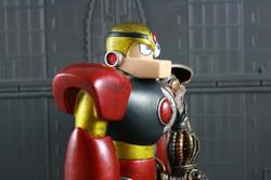 Mega Man Gutsman Anatomical Collectible Toy Model