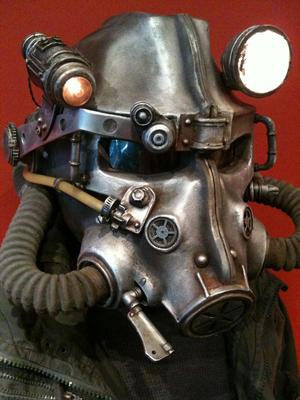 Power Helmet from Brotherhood Power Armor in Fallout 3
